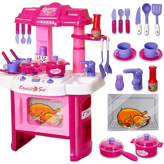Kitchen Set Mainan Masak Masakan Mainan Anak Smart