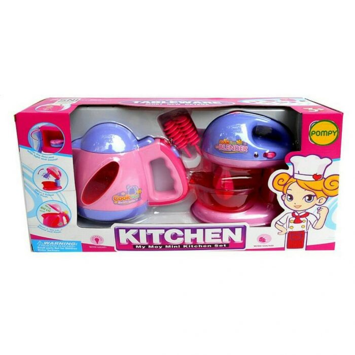 Kitchen Playset Model Tableware