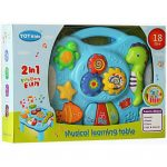 2 in 1 Play Learn Fun Musical Learning Table