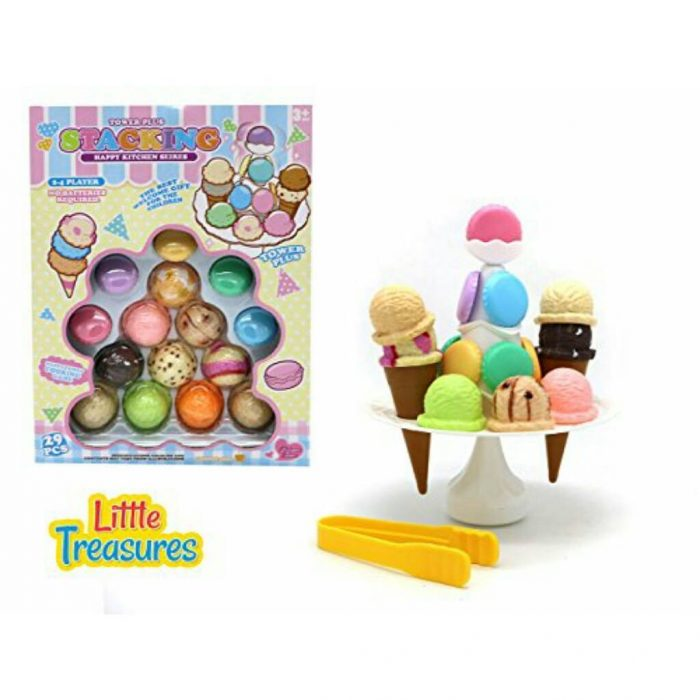 Little Treasures Mainan Susun Menyusun Ice Cream