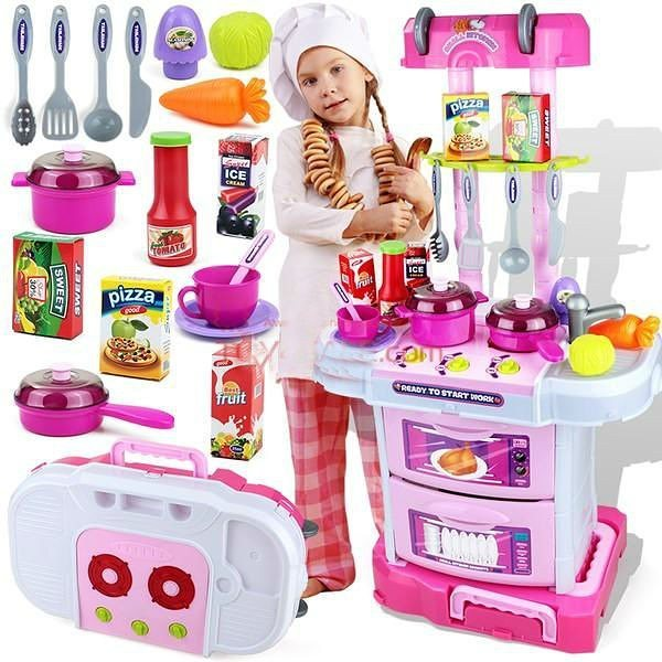 Kitchen Set Anak Bentuk Tool Bag Trolley