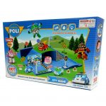 Robocar Poli Cartoon City Scan